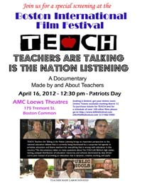 TEACH BIFF Invitation